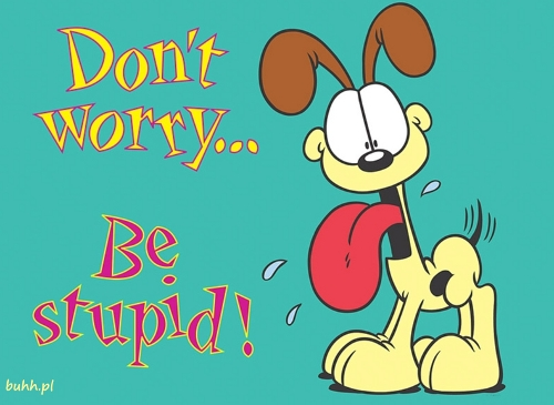 Don't worry,be stupid